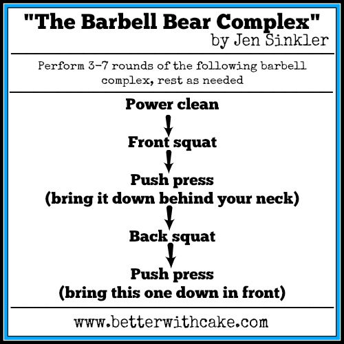 """The Friday Five 23-01-14 – """"The Barbell Bear Complex"""" – by ..."""