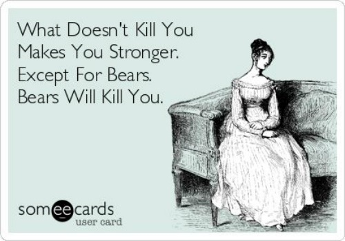 What doesn't Kill you makes your stronger