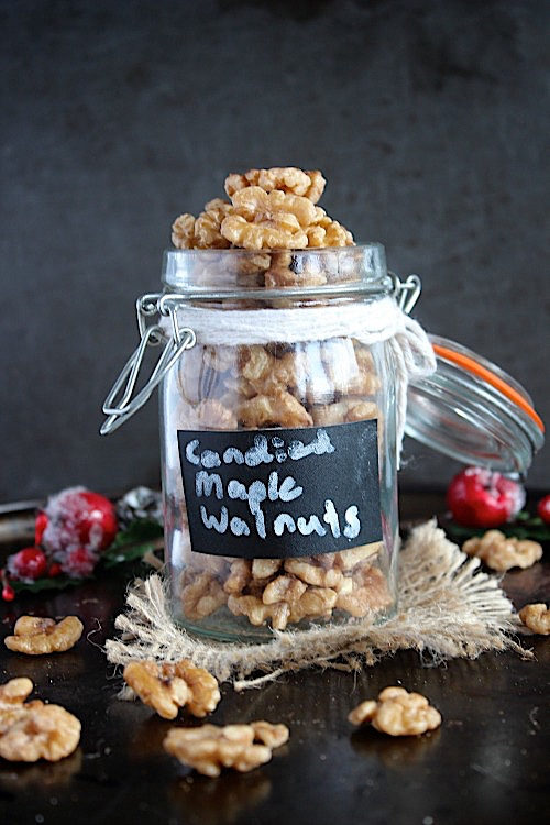 Quick and Easy Candied Maple Walnuts {Vegan, Gluten Free & Paleo} - www.betterwithcake.com