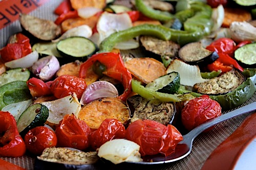 grilled vegetables in oven 2