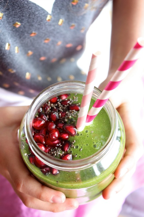 Energising Green Apple Super Smoothie
