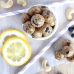 Lemon and Blueberry Energy Bites
