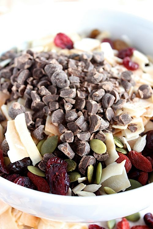 Healthy Homemade Nut Free Trail Mix Better With Cake