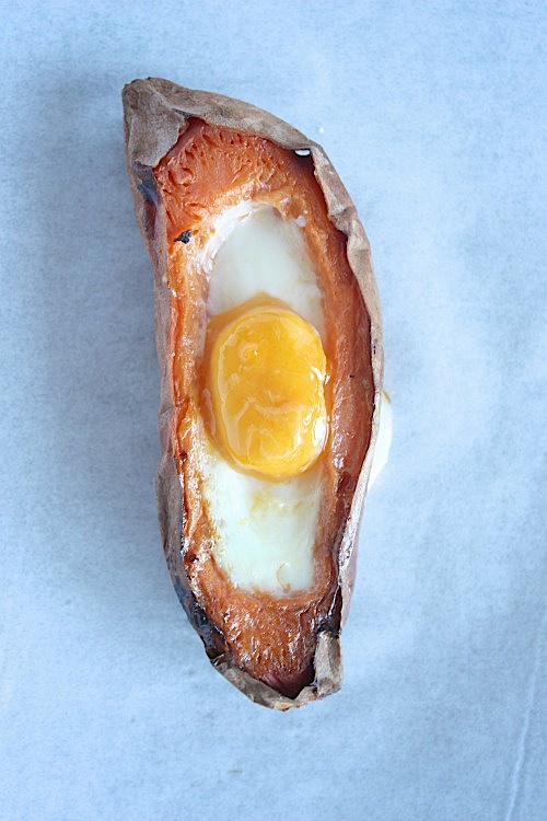 Sweet Potato Egg Boats - www.betterwithcake.com