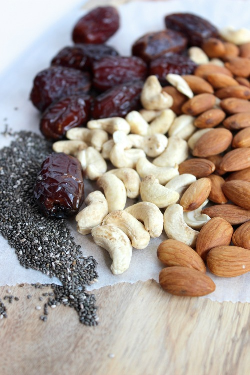 Date, Chia and Coconut Energy Bites