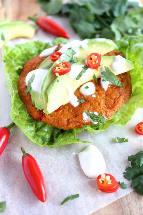 Spicy Tuna and Tomato Burgers {Paleo Friendly}