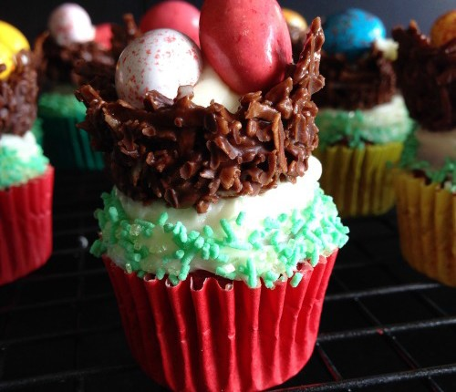 Easter Cupcakes - Gluten Free & Paleo Friendly - www.betterwithcake.com