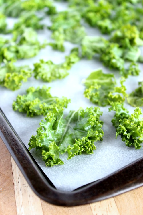 Oven Baked Kale Chips | Better with Cake