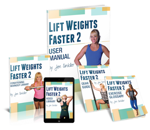 Lift Weights Faster 2 Launch - www.betterwithcake.com