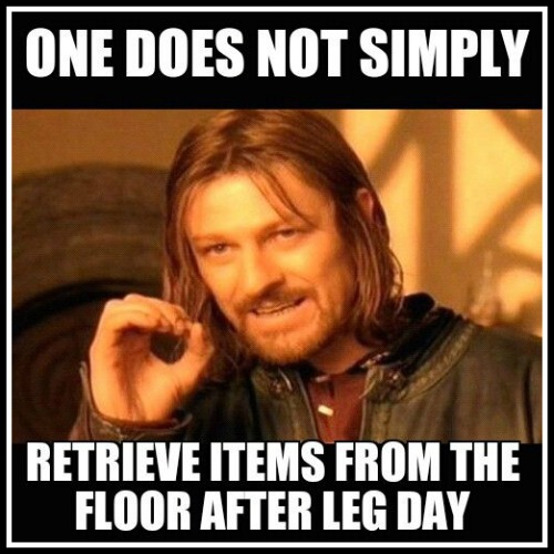 Game of Thrones Leg Day Meme - www.betterwithcake.com