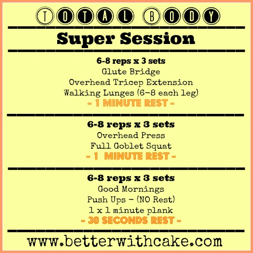 Total Body Super Session