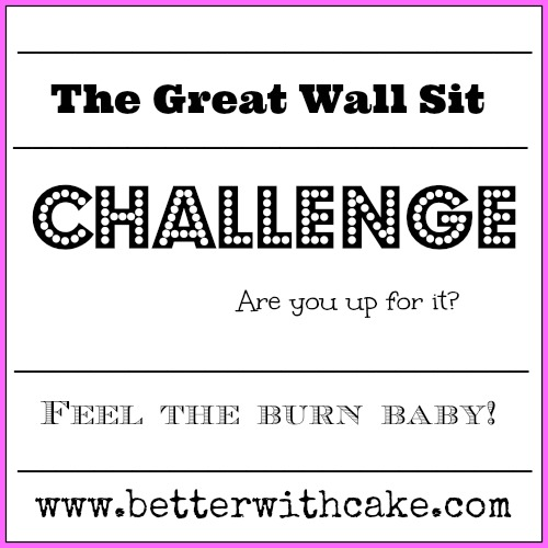 Wall Sit Challenge Fit Friday Fun – The...