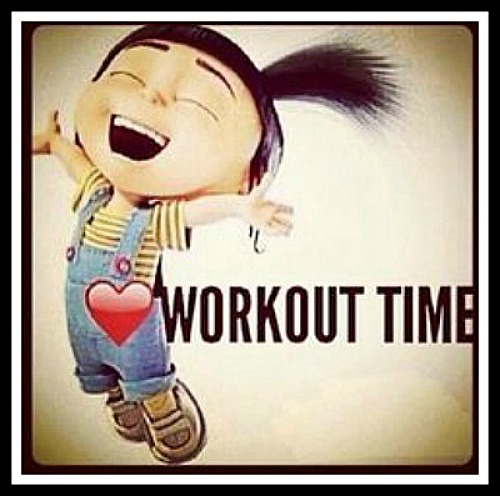 Workout Time - www.betterwithcake.com
