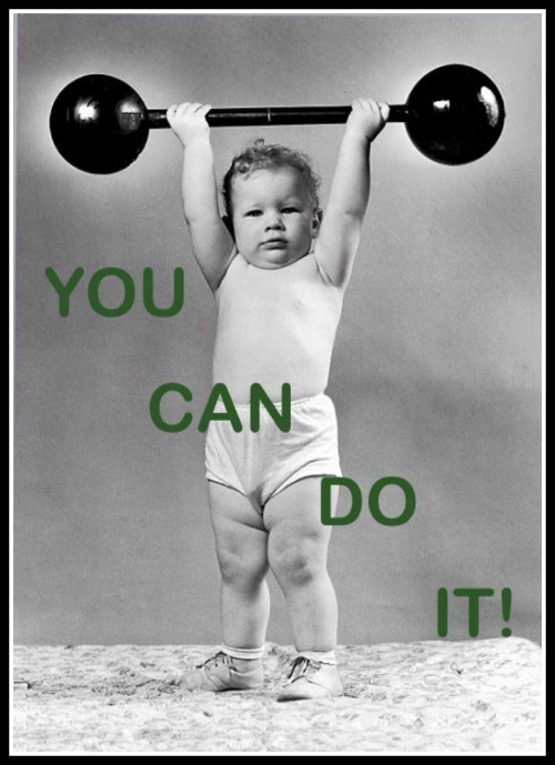 You can do it - www.betterwithcake.com