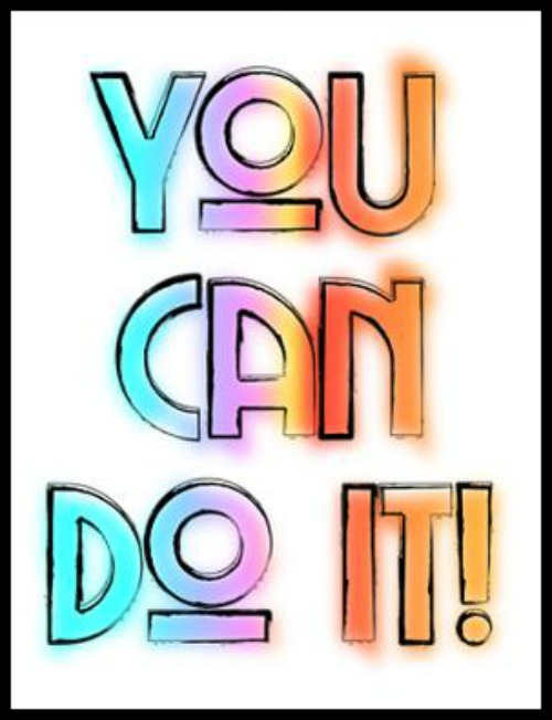 You can do it! - www.betterwithcake.com